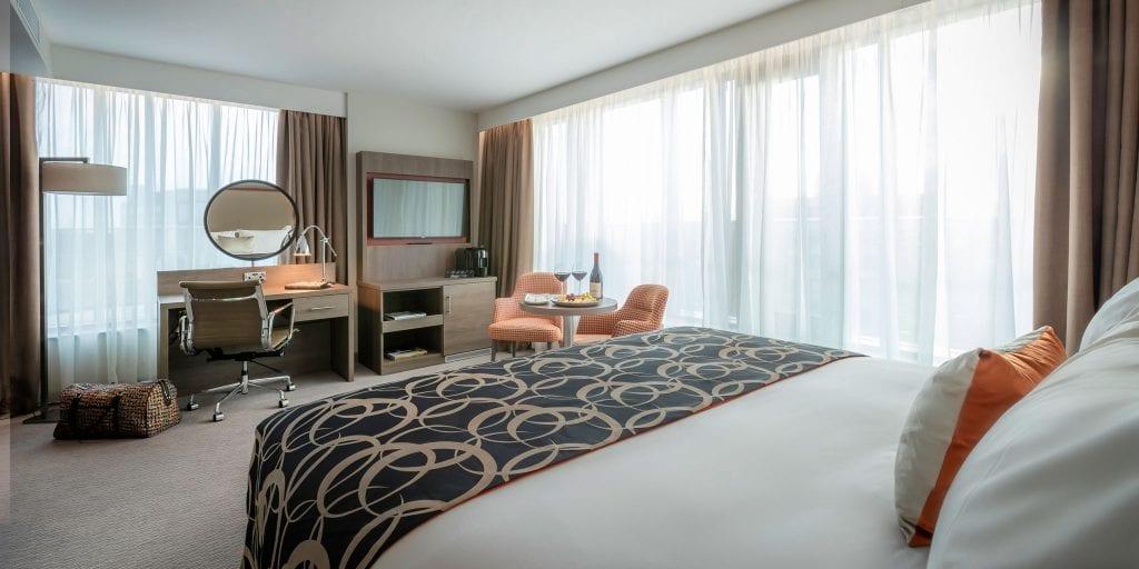 Bedroom at Clayton Hotel Charlemont
