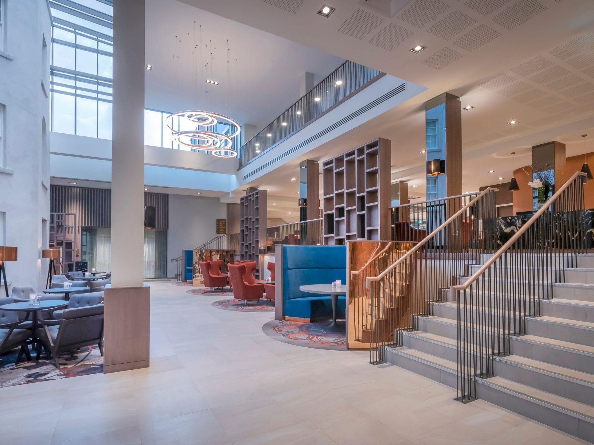 Lobby at Clayton Hotel Charlemont