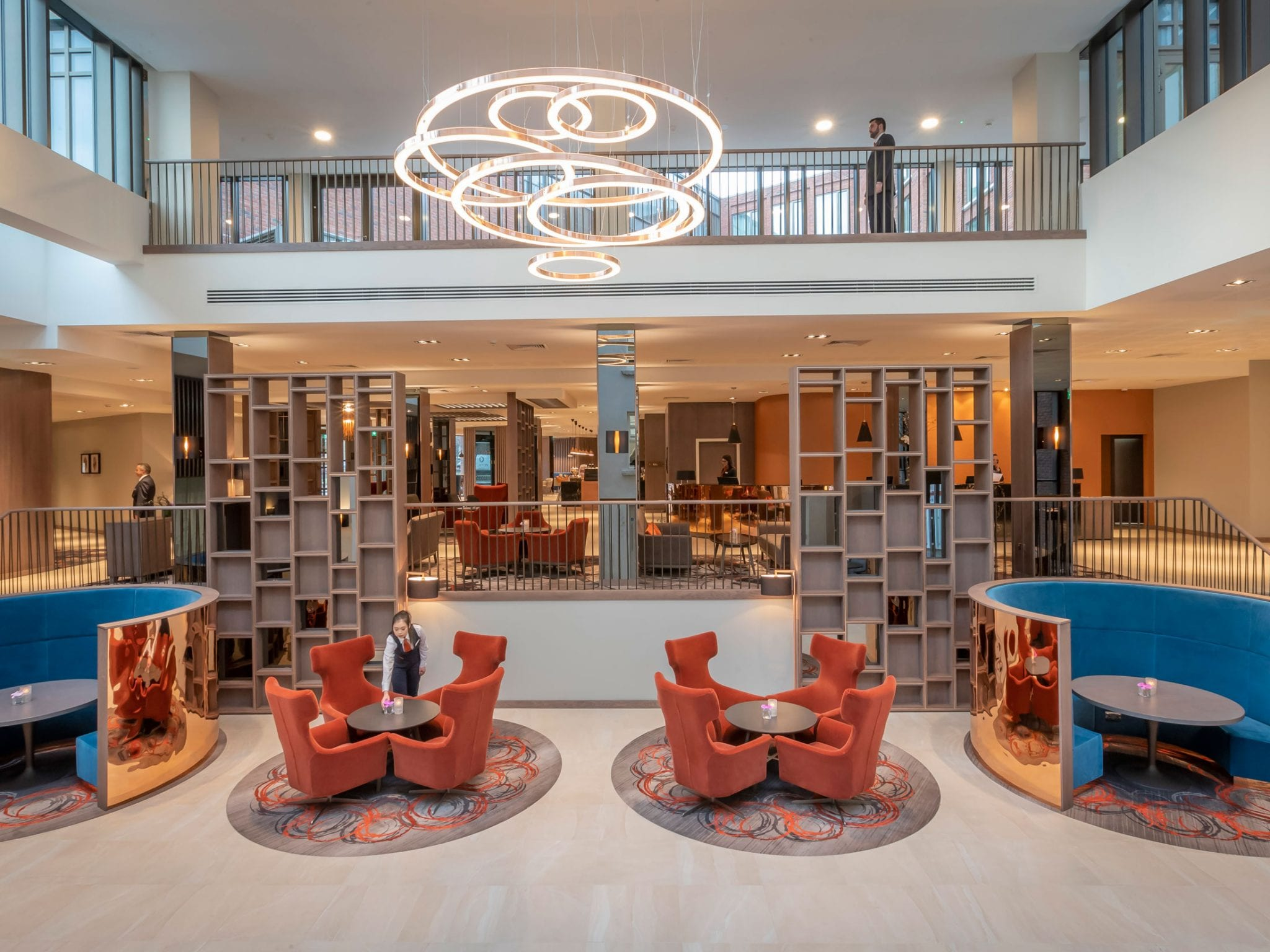 Common spaces at Clayton Hotel Charlemont