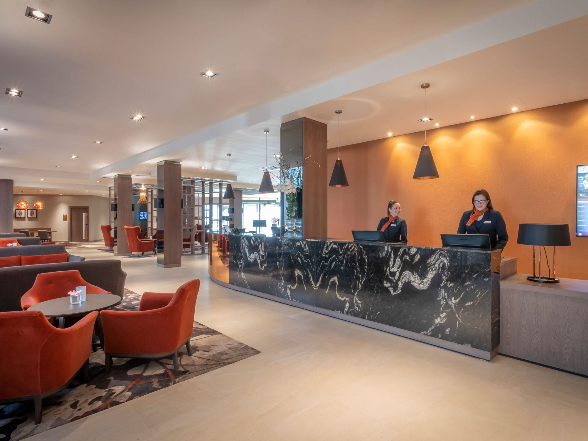 Reception at Clayton Hotel Charlemont