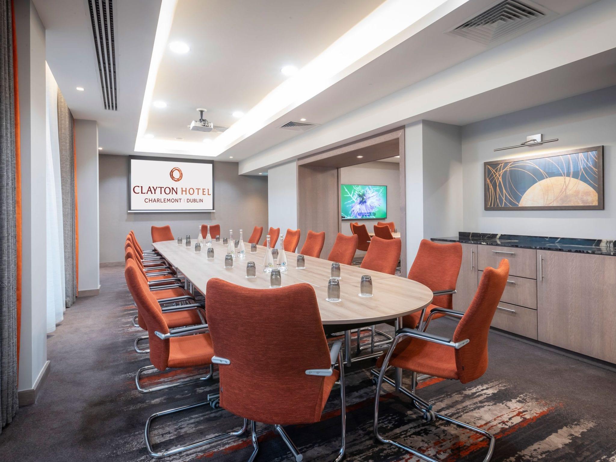 Meeting room at Clayton Hotel Charlemont