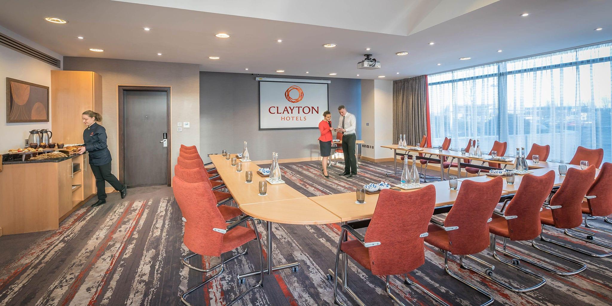 U-Shape Meeting Room at Clayton Hotel
