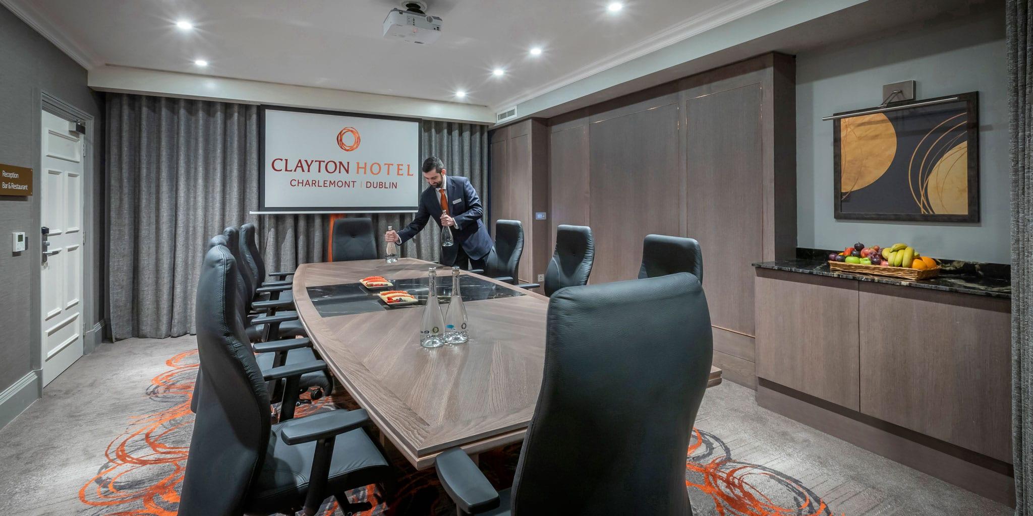 Boardroom at Clayton Hotel Charlemont