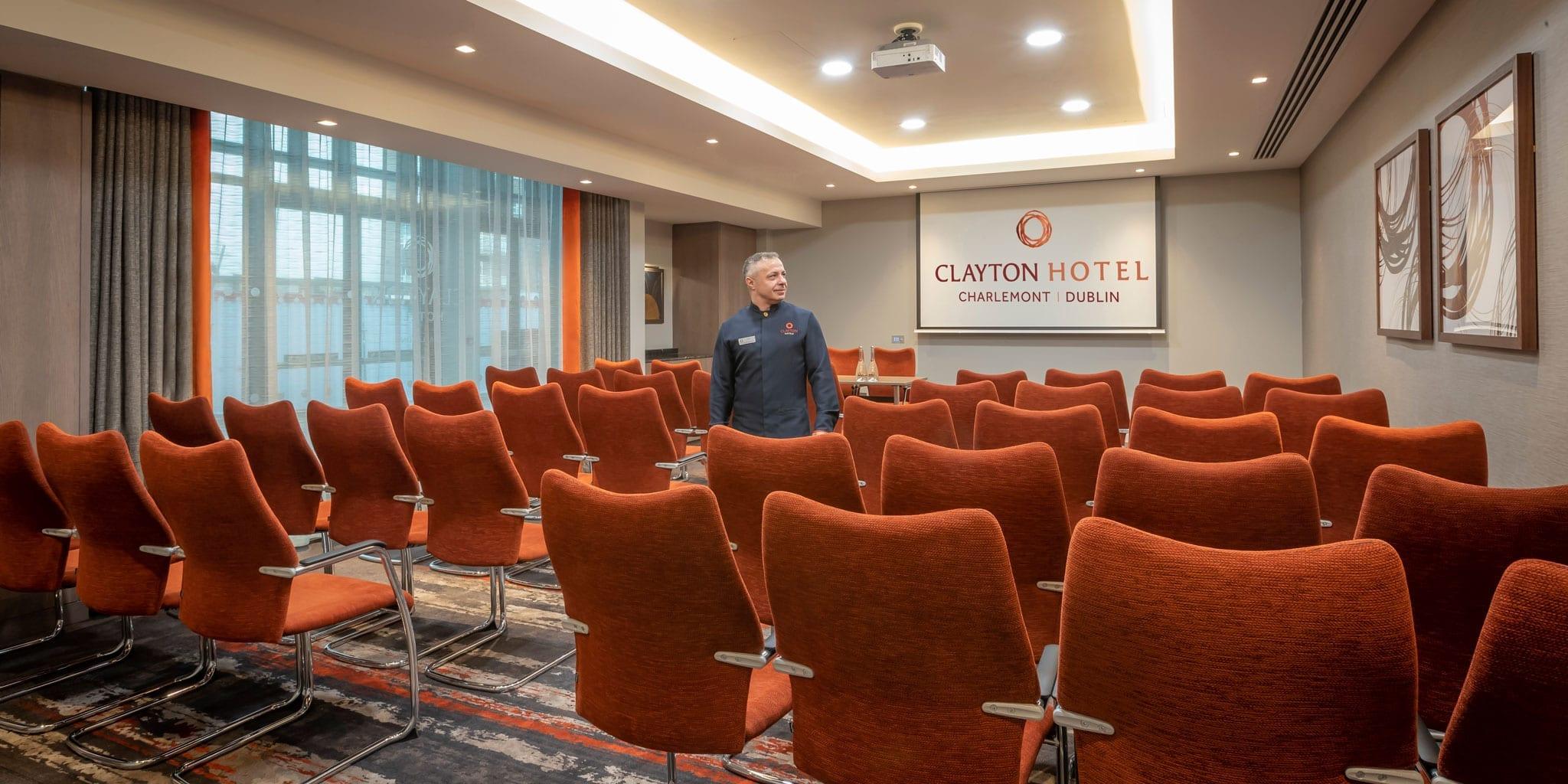 Conference room at Clayton Hotel Charlemont