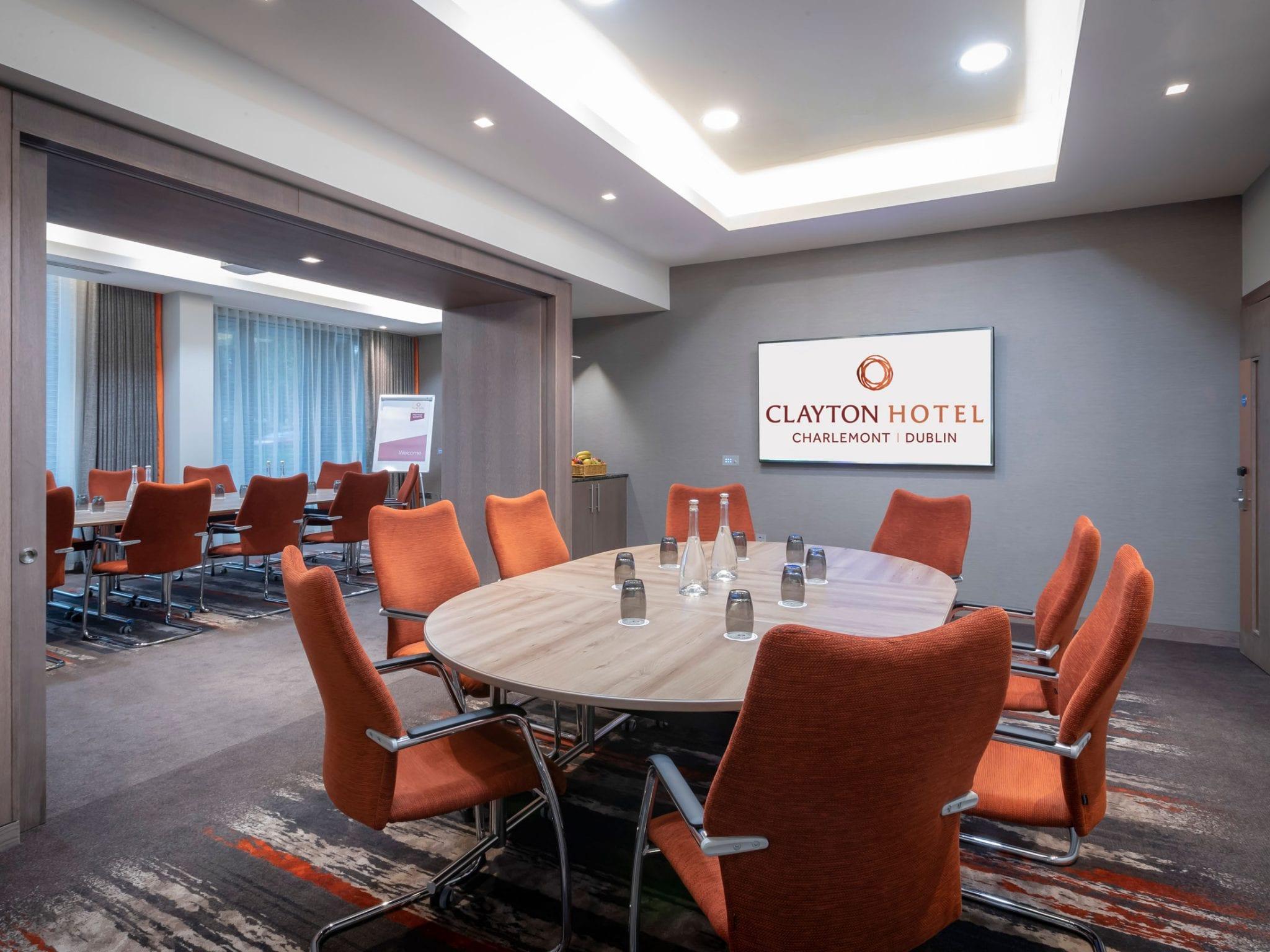 Portobello meeting room at Clayton Hotel Charlemont