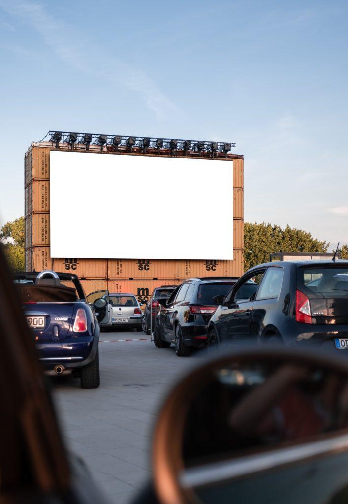 Drive in cinema in Dublin